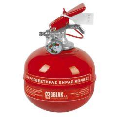 Επιτραπέζιος Πυροσβεστήρας 0,2Kg Ξηράς Σκόνης ABC 40%