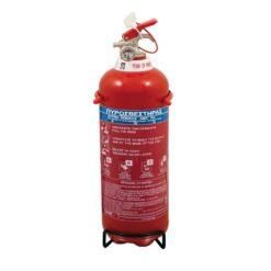 Πυροσβεστήρας 1Kg Ξηράς Σκόνης EXCLUSIVE με Μεταλλική Βάση