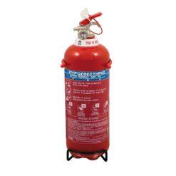 Πυροσβεστήρας 2Kg Ξηράς Σκόνης EXCLUSIVE με Μεταλλική Βάση