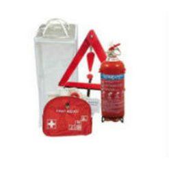 Σετ Πυρασφάλειας Αυτοκινήτου (Πυροσβεστήρας-Τρίγωνο-Φαρμακείο)