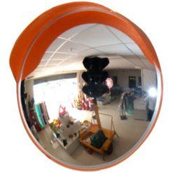 Κυρτός καθρέπτης ασφαλείας διαμέτρου 80cm
